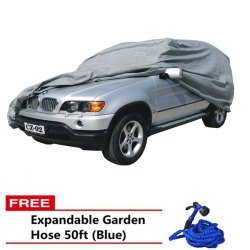 Car Cover for SUV (Grey) with and 50ft Hose