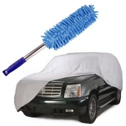 Car Cover Suv With Long Handle Cleaner Dust Remover (Neon Blue)