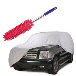 Car Cover Suv With Long Handle Cleaner Dust Remover (Pink)