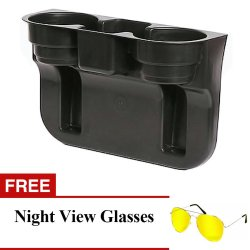 Car Valet Cup Holder With FREE Night View Glasses