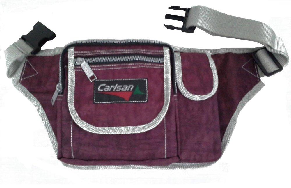 Carlsan Kabush Outdoor Belt Bag (Dark Maroon) - thumbnail