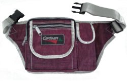 Carlsan Kabush Outdoor Belt Bag (Dark Maroon)