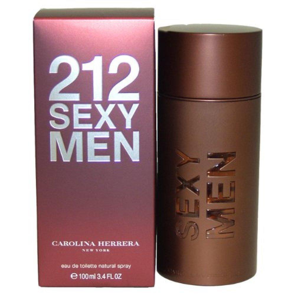 Carolina Herrera 212 Sexy Men Eau de Toilette for Men 100ml