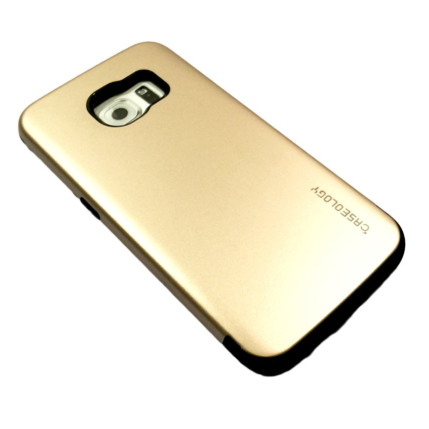 cheap for discount f9a36 b449a Caseology Armor Case for Samsung Galaxy S6 Edge (Goldenrod)
