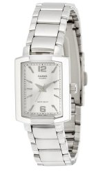 Casio Analog LTP-1233D-7ADF Silver Stainless Steel Band Women's Watch