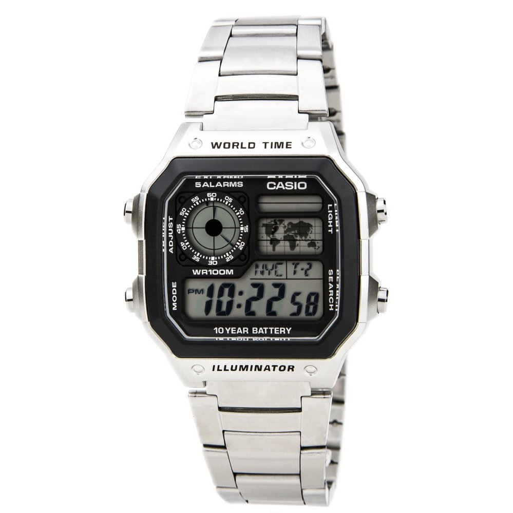 Casio Quartz Men's Watch AE-1200WHD-1A(Silver) product preview, discount at cheapest price