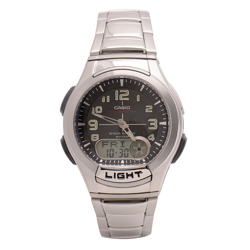 Casio Standard Classic AQ-180WD-7BVDF (Silver) product preview, discount at cheapest price
