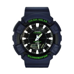 Casio Tough Solar Male Blue Resin Strap Watch AD-S800WH-2AVDF