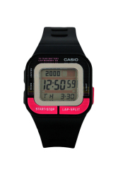 Casio Unisex Black Resin Strap Watch SDB-100-1BDF
