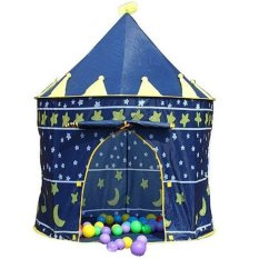 Kiddie Blue Castle Tent By Tickle Me Not.