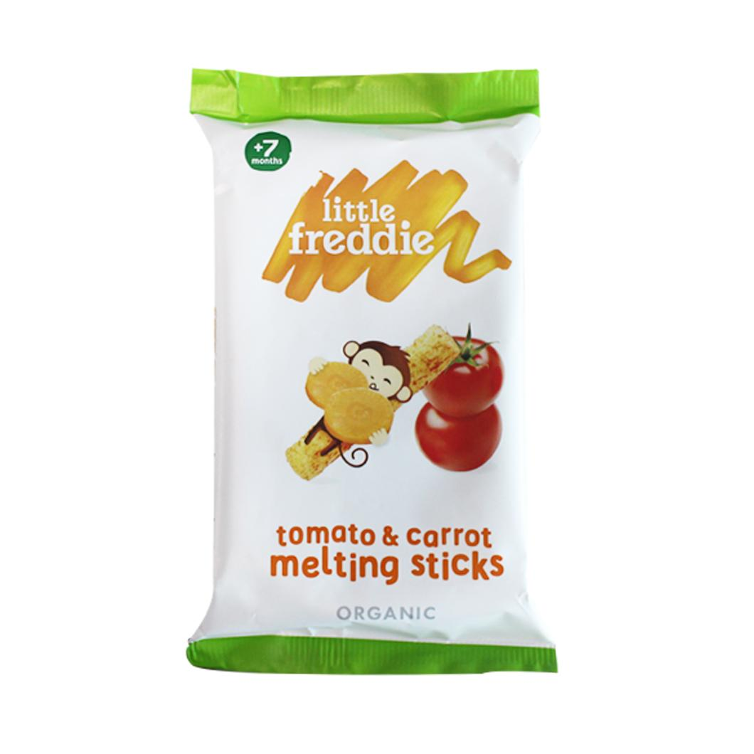 Little Freddie Tomato & Carrot Melting Sticks 15g By Babyzone.