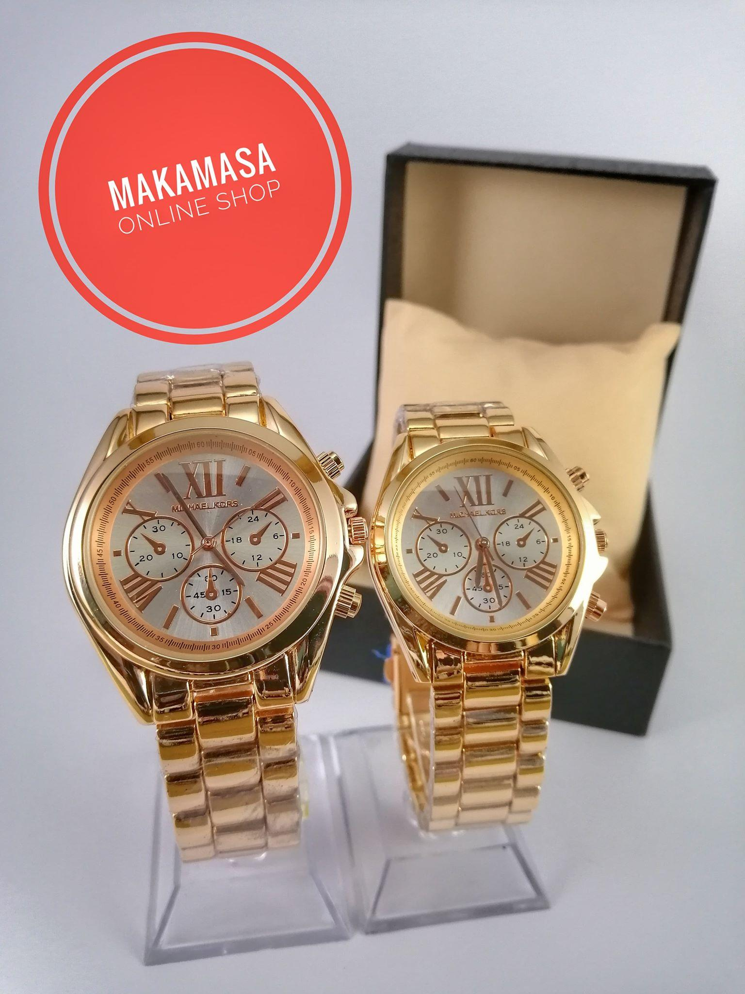75ab270bd5ae Fashionable Couple s Watch - Michael Kors Bradshaw Stainless Steel Watch  Strap