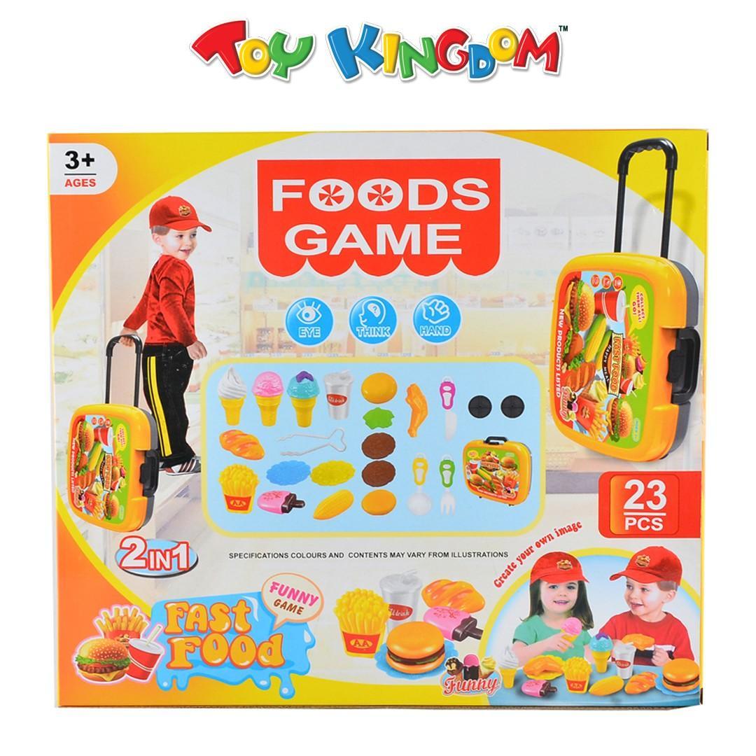 Foods Game Fast Food Playset
