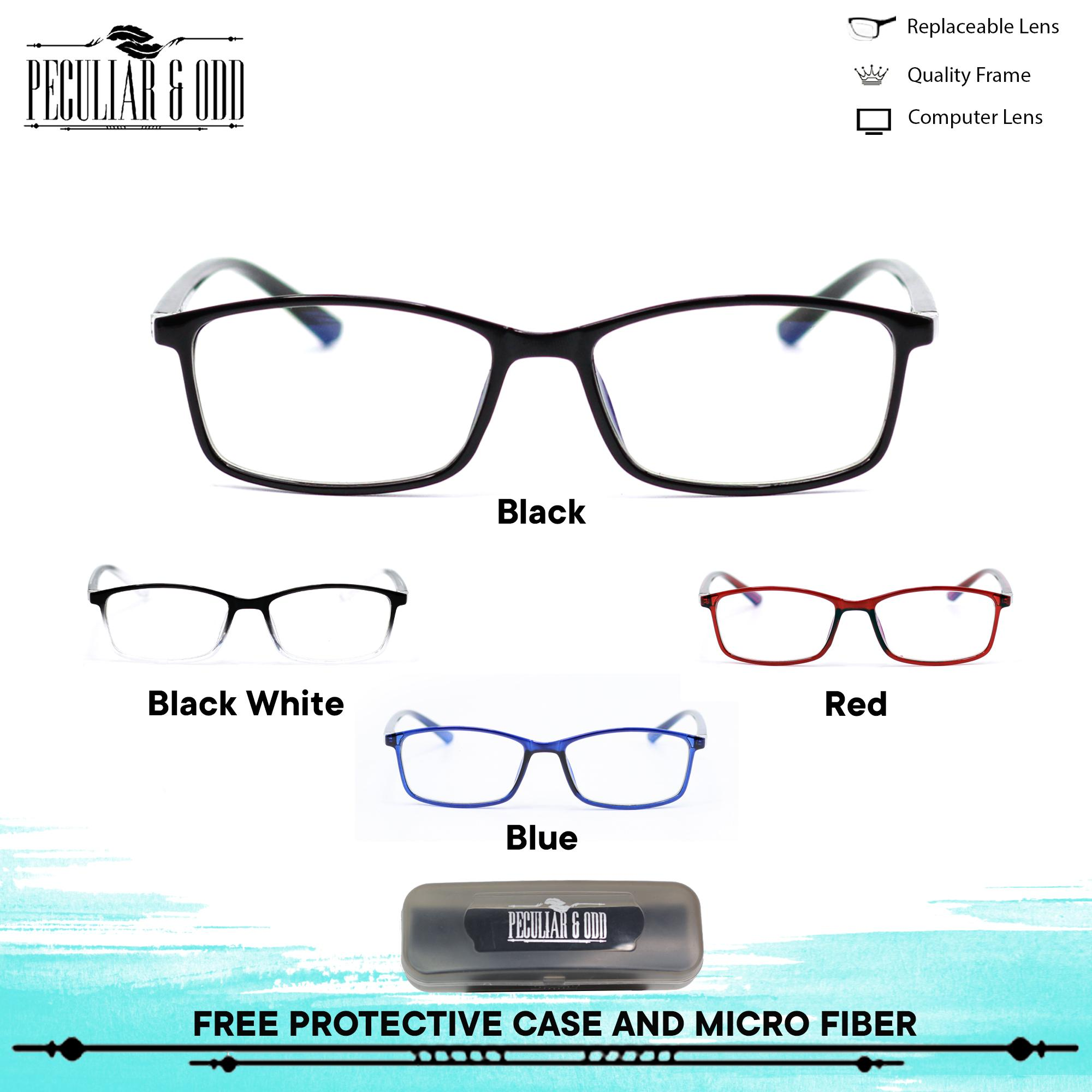 4a97b41b4064 Peculiar Square Eyeglasses 2821 Antiradiation Lenses Lightweight  Replaceable Optical Lens Unisex Eyewear