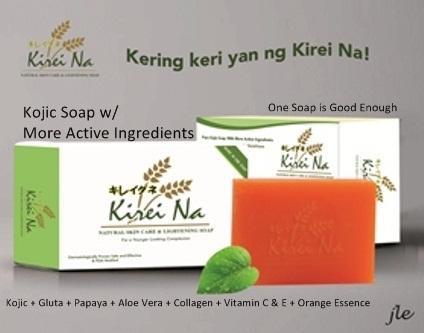 Kirei Na Kojic Soap w/ MORE Active Ingredients 135g set of 40pcs