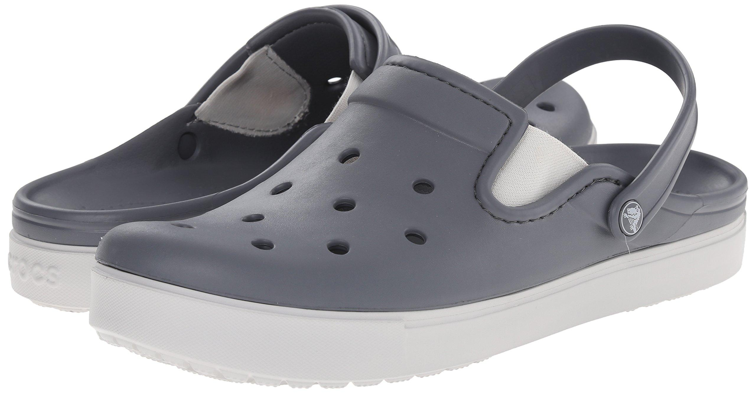 3a16cee58 Authentic Crocs™ Citilane Clog Charcoal   Pearl White
