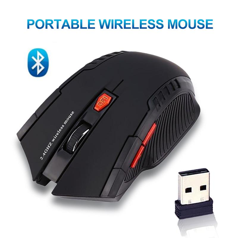 becae4dbf9f COD Portable Wireless Mouse 2.4GHz Wireless Optical Mouse With USB Receiver  Designed for Home Office