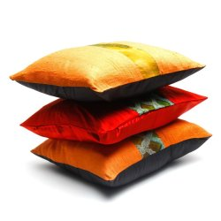 CC-2015-D24 Cushion Cover Set of 3 (Multicolor)
