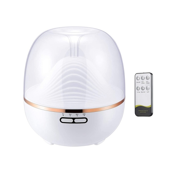 Aromatherapy Diffusers with 7 Colourful LED Lights, Humidifier with Adjustable Mist Modes, for Bedroom Singapore