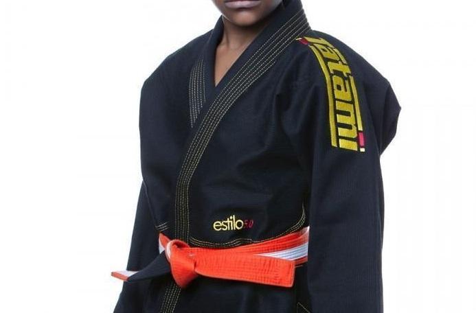 Kids Tatami Estilo Black and Yellow BJJ Gi M2 Kimono Uniform Brazilian Jiu  Jitsu