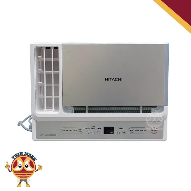 1hp HITACHI RA-10HVQ Inverter Window Type Aircon Compact Size