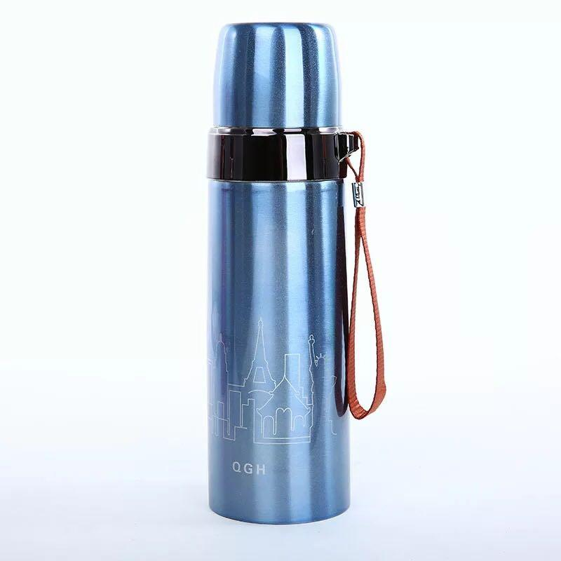 Stainless Steel Tumbler Flasks Thermos Vacuum Cup 500ml By V&v International.