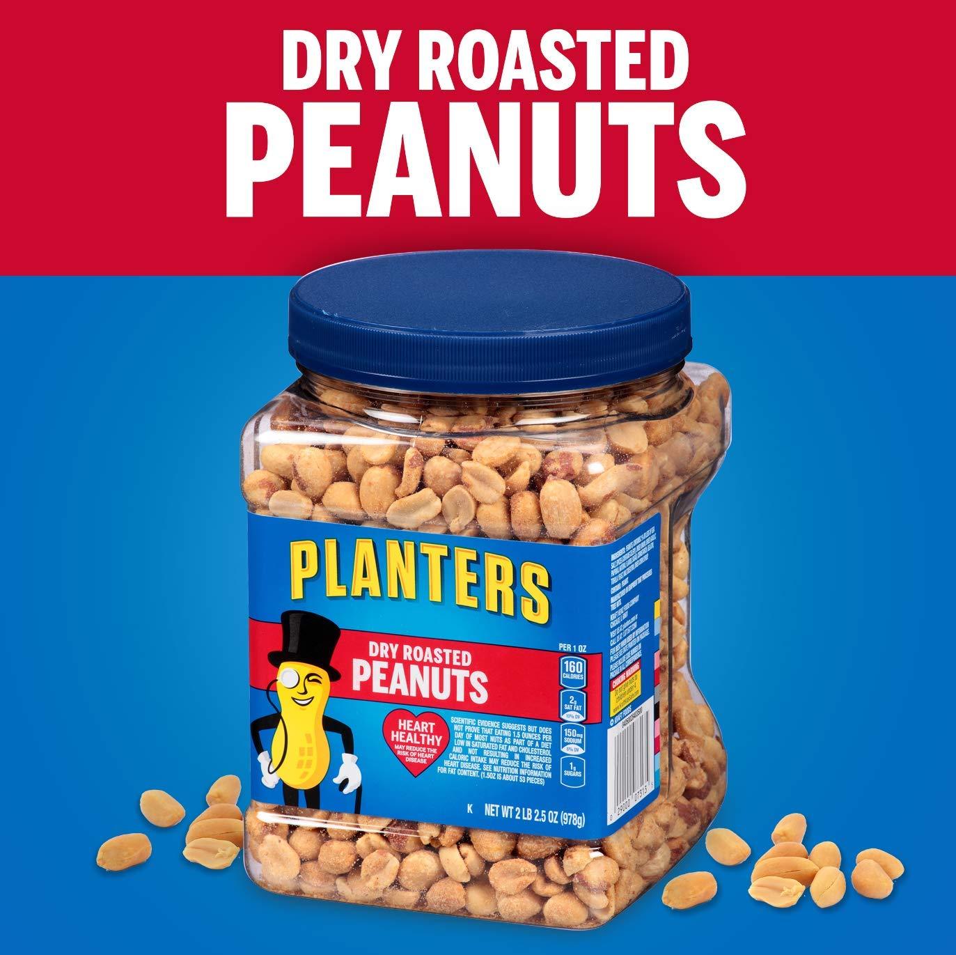 Planters Dry Roasted Peanuts 34.5 oz