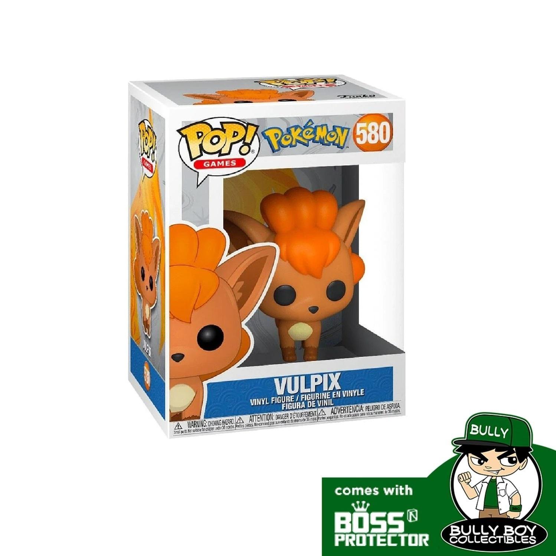 Games New in Box VULPIX Pokemon S3 Vinyl Figure Funko POP