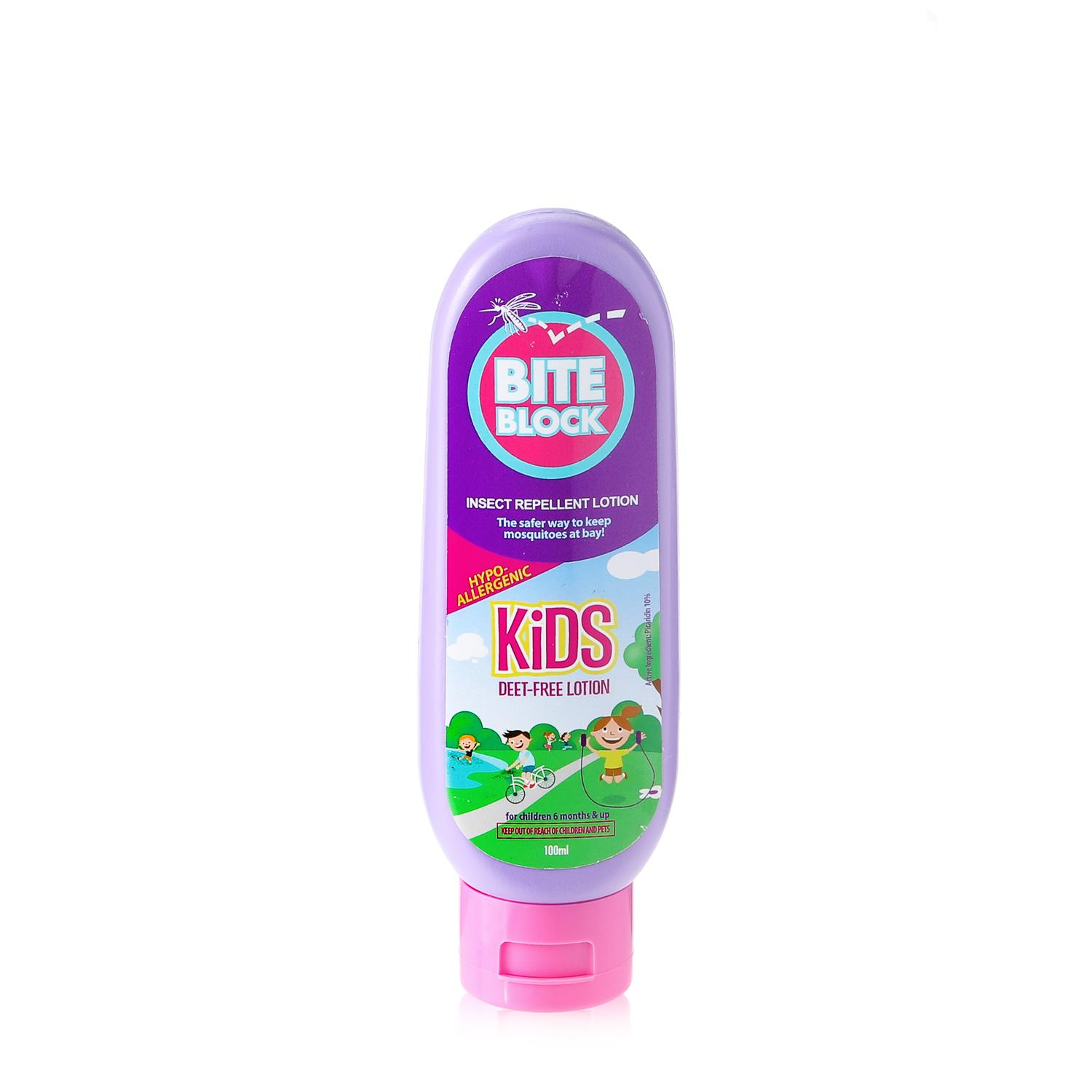 Bite Block Kid's Insect Repellent Lotion 100ml By The Sm Store.