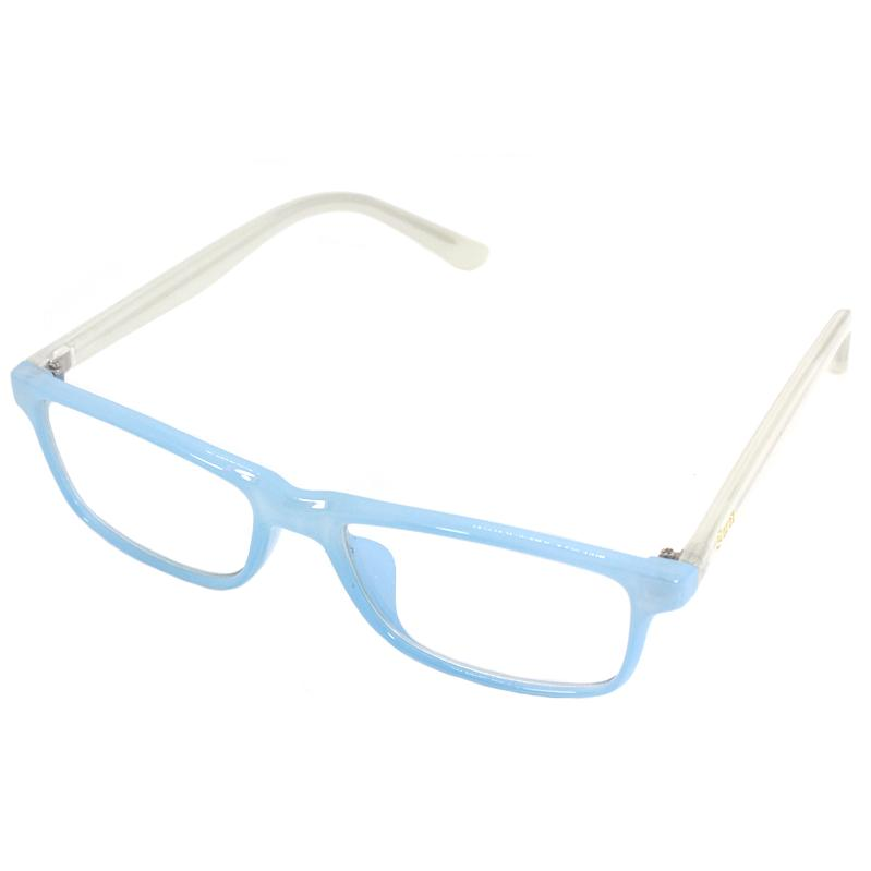 Kids Replaceable Anti-Radiation Clear Lens – Blue/white With Free Case By Sophie And Basty.