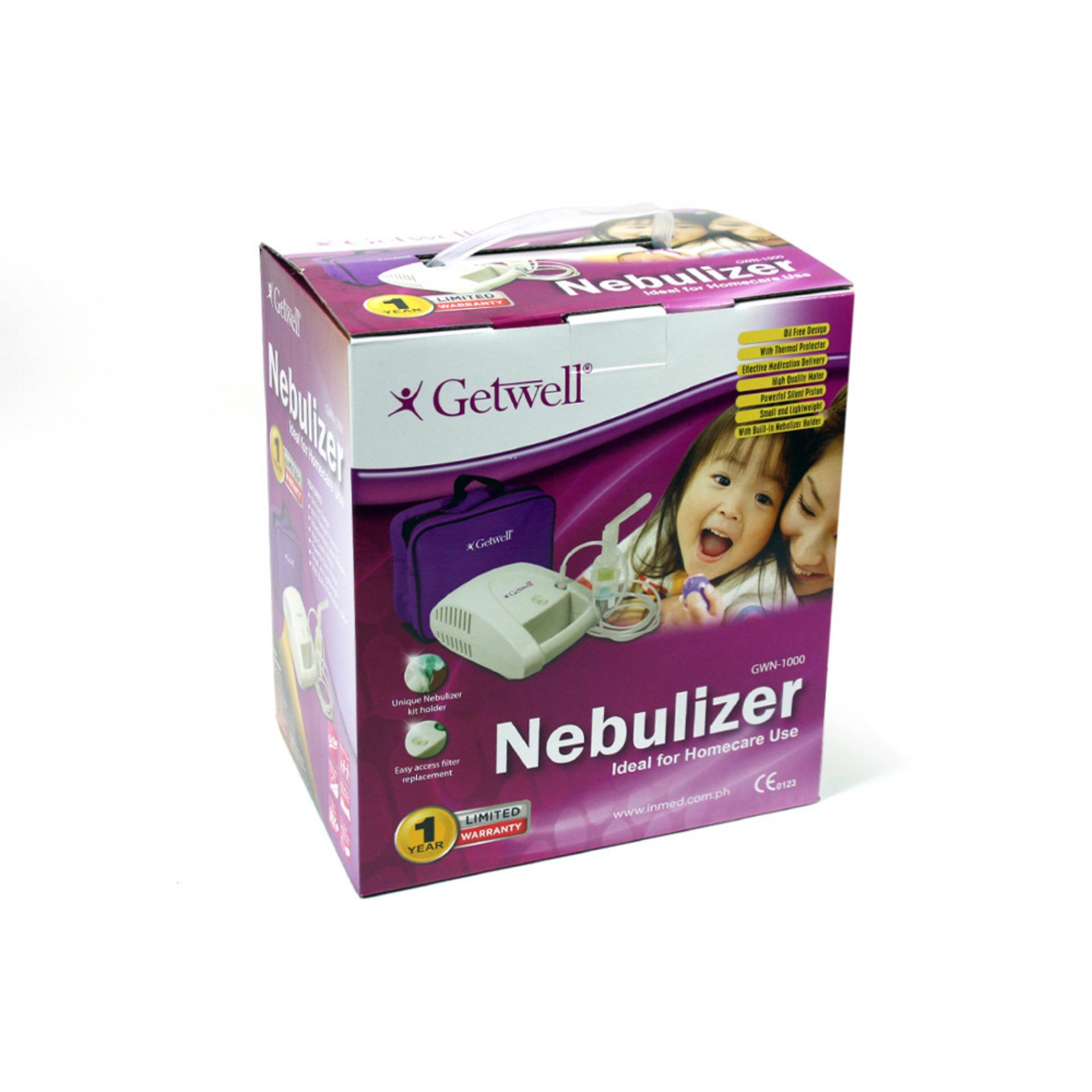 Getwell Gwn-1000 Nebulizer By Watsons Personal Care Stores.