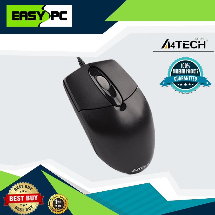 41a09df8479 A4Tech OP-720 USB Mouse, Optical mouse, 1000dpi, Plug and Play Mouse