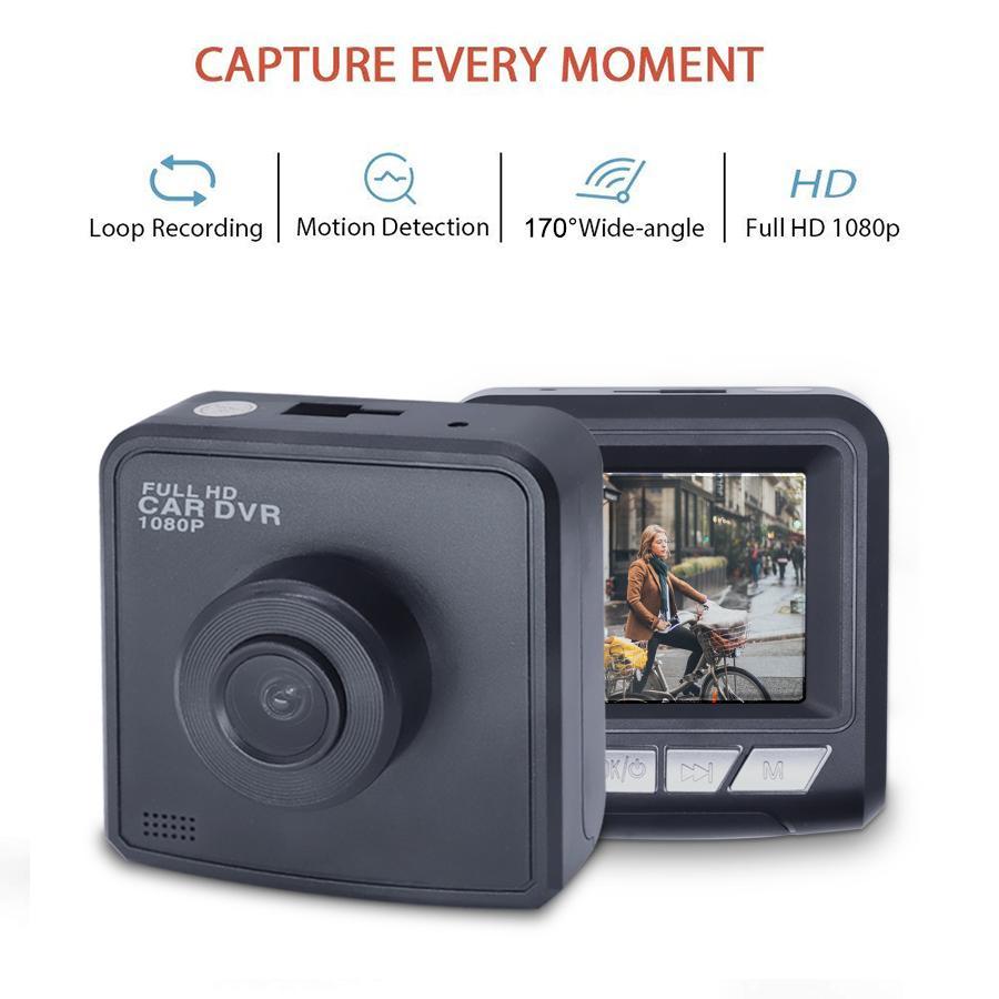 2019 New Mini Car DVR Camera Dashcam Full HD Video Registrator Recorder  G-sensor Night Vision Dash Cam 30fps Dual Lens Car Cam