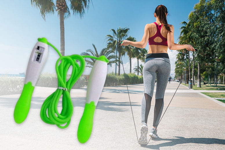 ASD Tough and Durable Counting Skipping Rope with Counter Adjustable /  Counter Professional Skipper / Jump Rope counter Outdoor And Indoor  Wireless Cordless Diet Jumping Rope With Digital LCD Screen Showing Jump