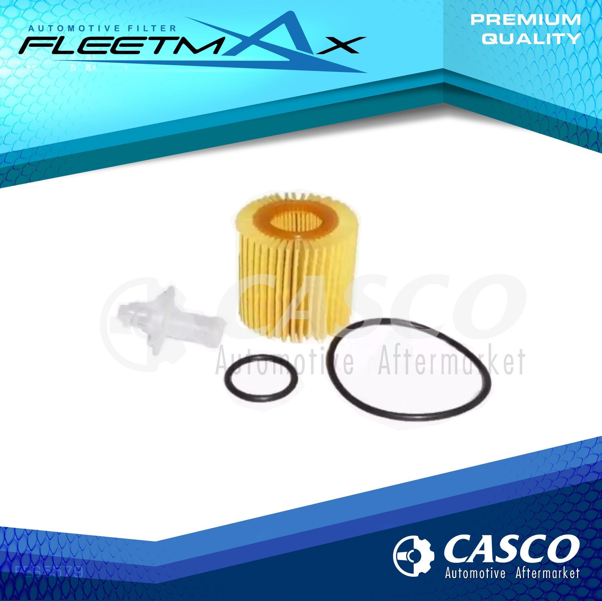 fleetmax oil filter fes5579 for toyota corolla altis dual vvt-i 2009-2018