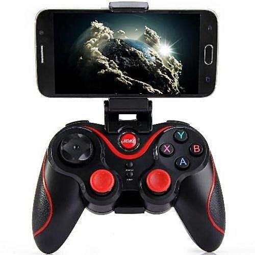 S5 Wireless Bluetooth Gamepad for Smartphones with holder