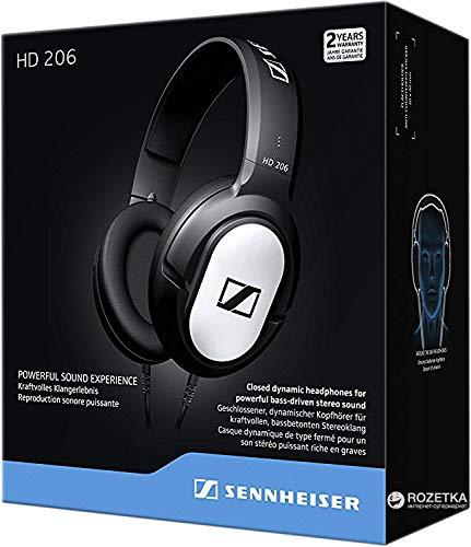 704ee83059c Sennheiser HD 206 Closed-Back Over the Ear Headphones (replacement model of  HD 201
