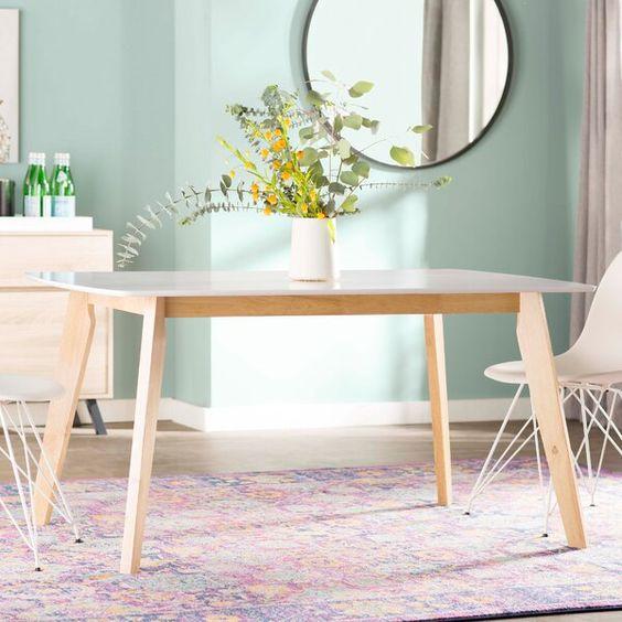 Scandinavian Rectangular Dinning Table Lazada Ph