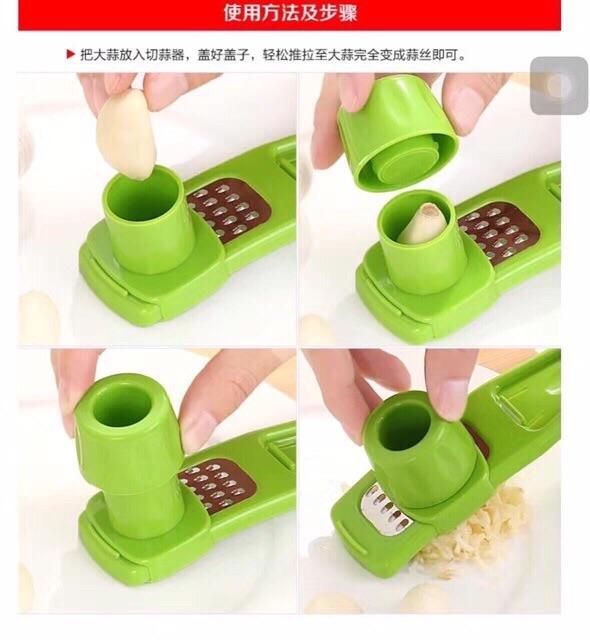 Garlic Press Cutter Grinding Tool Kitchen Gad Manual Chopper By Jingzuan.