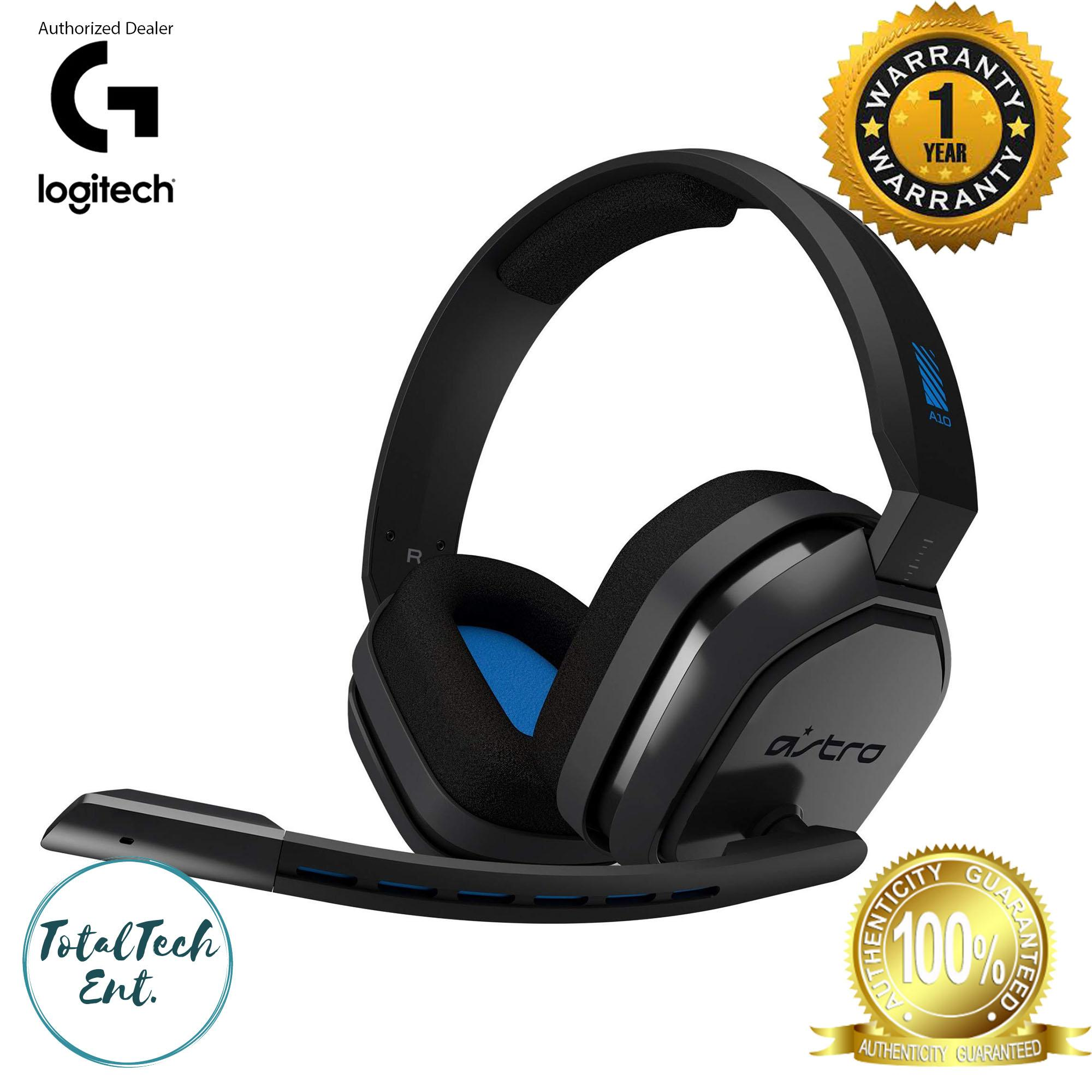 LOGITECH ASTRO A10 Gaming Headset for Xbox One, PS4, Nintendo Switch,  Mobile, MAC, and PC