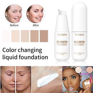 Everbeauty YANQINA Foundation Kem Che Khuyết Điểm Không Viền Kết Cấu Mềm Mịn, Kem Che Khuyết Điểm Dưỡng Ẩm Lâu Trôi Không Dễ Dàng Để Loại Bỏ Kem Nền Trang Điểm BB Cream thumbnail