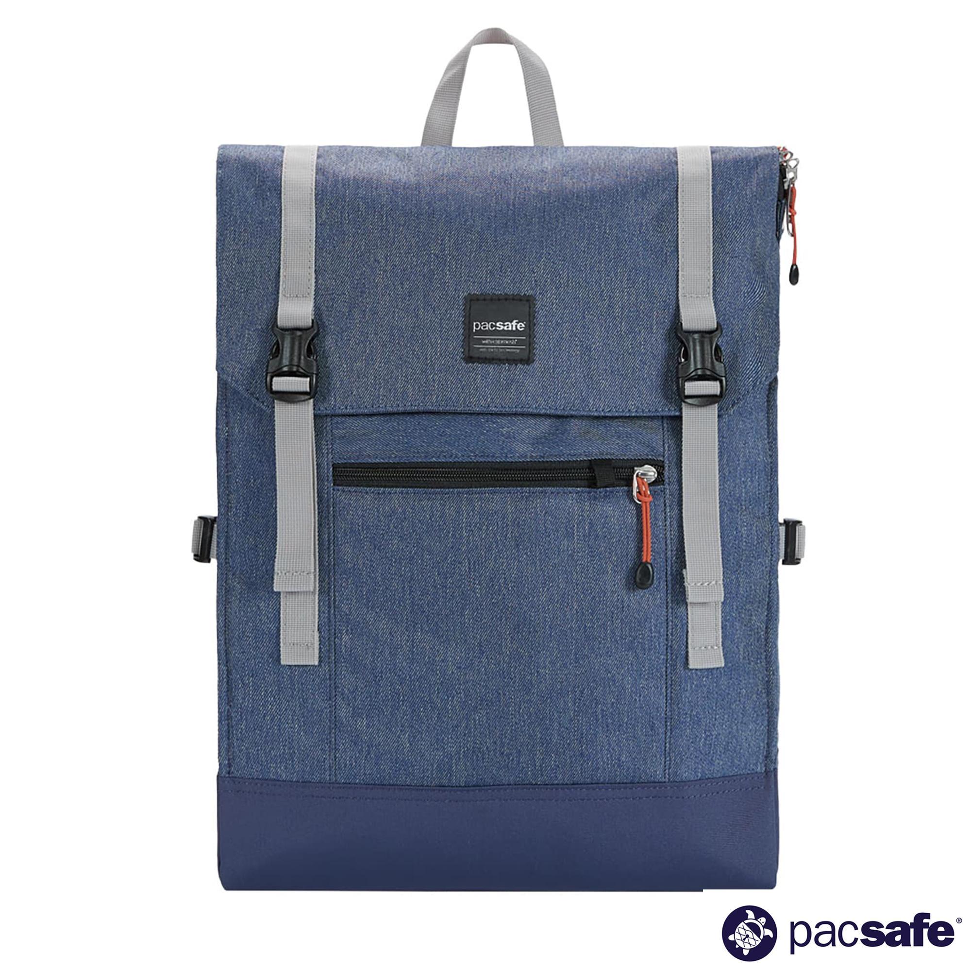 710ccdf7c5ba Pacsafe Slingsafe LX450 14L Anti-Theft Backpack (Grey Camo)