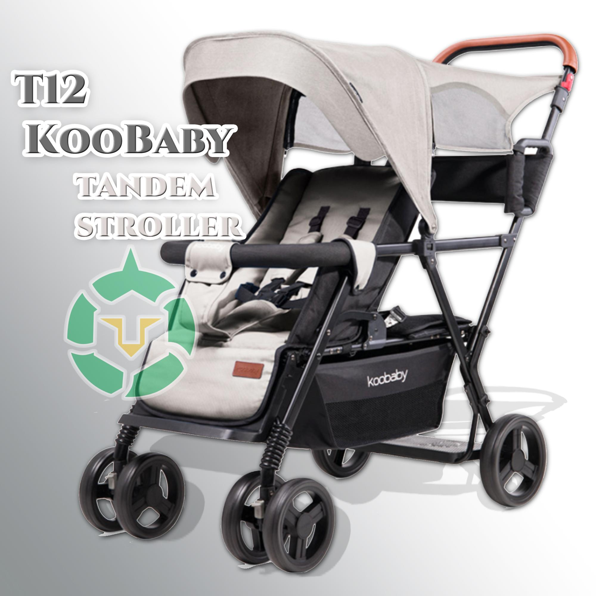Unicorn New T12 Koobaby Tandem Baby Stroller By Unicorn Selected.