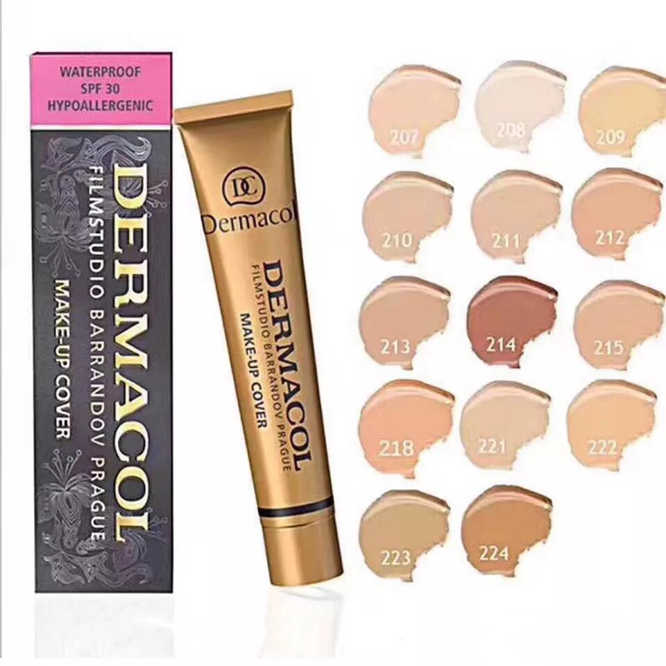 JLKT Dermacol Make-Up Cover Foundation Shades Philippines
