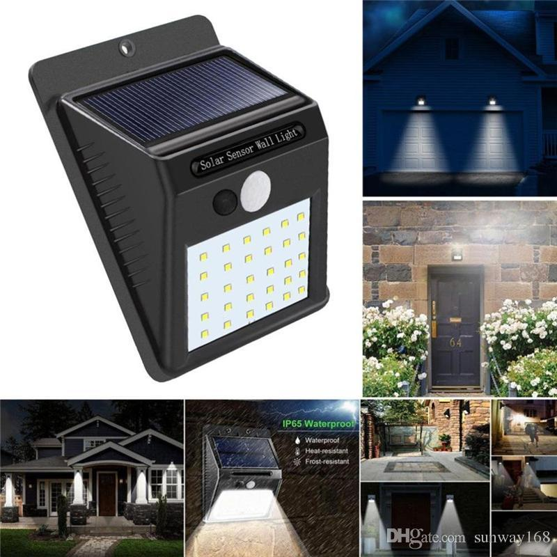 Outdoor Lighting Hearty 3 Models Dimmable Solar Lamp Pir Motion Sensor Solar Light 48 Led Outdoor Garden Yard Path Wall Lamp With Remote Control Lights & Lighting