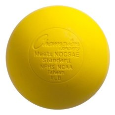 Champion Sports Lacrosse Ball (yellow) By Sportshub.