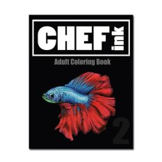 Chef Ink Adult Coloring Book Vol 2