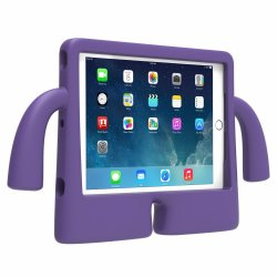 Child-friendly Shockproof Case for iPad Air (Purple)