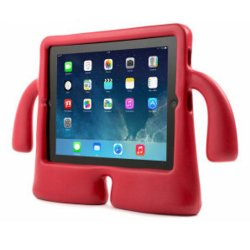 Child-friendly Shockproof Case for iPad Air (Red)