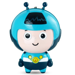 Children's Cartoon Learning Toy Machine (Blue) (Intl)